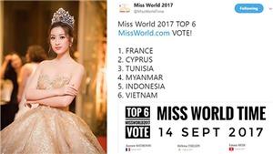 Chưa thi Miss World 2017, Đỗ Mỹ Linh đã gặt hái thành tích tốt