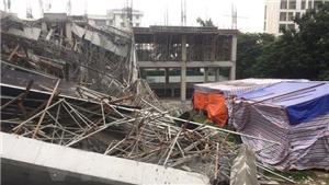 Công bố nguyên nhân sập công trình trường mầm non Vườn Xanh - Hà Nội