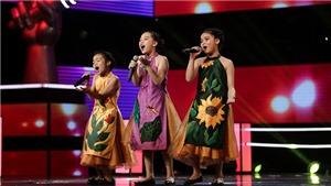 The Voice Kids tập 8: Ba cô bé 'Chuồn chuồn ớt' làm 'bùng nổ' sân khấu