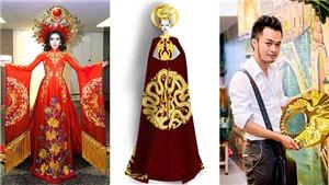 Trang phục dân tộc thi quốc tế của Huyền My bị NTK Đỗ Vân Trí 'tố' sao chép ý tưởng