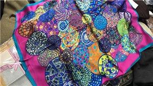 Từ vụ khăn lụa Khaisilk: Đã nhập khẩu 8.800 chiếc khăn lụa từ Trung Quốc