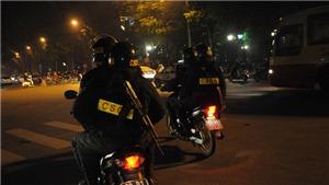 Từ hôm nay, cảnh sát hình sự, cảnh sát cơ động Hà Nội ra quân tổng kiểm tra hành chính ban đêm