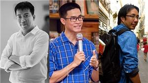 Nhà văn Hoàng Anh Tú, Phong Việt, nhà báo Trương Anh Ngọc đọ tiêu chí đàn ông 'chất'
