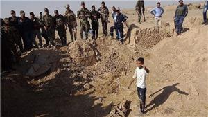 Iraq phát hiện hố vùi 400 thi thể bị IS sát hại