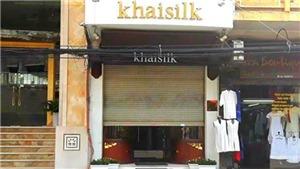 Cục Thuế Hà Nội công bố kết quả kinh doanh của Khaisilk ở 113 Hàng Gai