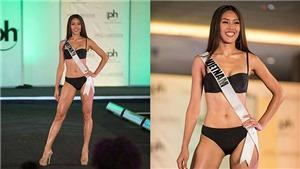 Bán kết Hoa hậu Hoàn Vũ Thế giới: Nguyễn Thị Loan bốc lửa với bikini, quý phái với váy dạ hội