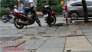 'Đại công trình' lát đá vỉa hè ở Hà Nội đã bị các quận, huyện 'bóp méo'