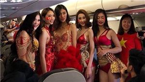 Xử phạt Vietjet Air vụ người mẫu mặc phản cảm trên chuyến bay đón cầu thủ U23 Việt Nam
