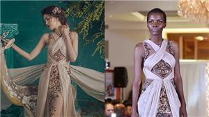 Hoa hậu Tanzania bị chê 'thô kệch', nhạt hơn Lan Khuê, NTK Việt lên tiếng