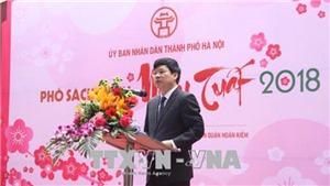 VIDEO: Lần đầu tiên Phố sách Xuân được tổ chức tại Phố sách Hà Nội