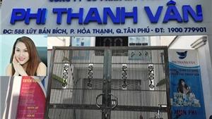 Hai lô mỹ phẩm của công ty Phi Thanh Vân bị đình chỉ lưu hành và thu hồi