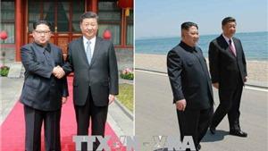 Nhà lãnh đạo Triều Tiên Kim Jong-un hội đàm với Chủ tịch Trung Quốc Tập Cận Bình