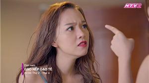 VIDEO 'Gạo nếp gạo tẻ' tập 32: Hân tạt nước, tát vào mặt tình nhân của Công