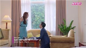 Phim 'Gạo nếp gạo tẻ' tập 33: Công mắng gia đình Hương côn đồ, Hân xúi chị gái ly hôn
