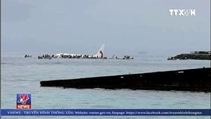 VIDEO: Công dân Việt Nam trên máy bay gặp nạn tại Micronesia đều an toàn