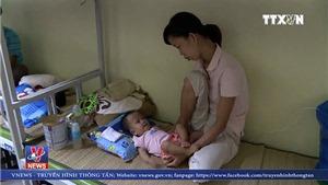 VIDEO: Cuộc sống của bệnh nhi sau hỏa hoạn