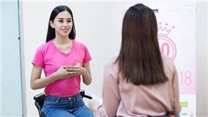 VIDEO 'Soi' trình độ ngoại ngữ của thí sinh Hoa hậu Việt Nam 2018