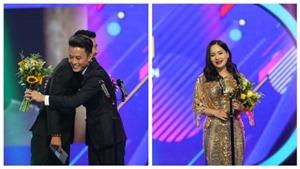 Hồng Đăng - Lan Phương chiến thắng giải Nam - Nữ diễn viên ấn tượng VTV Awards 2018