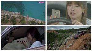 VIDEO 'So' cảnh lao xe xuống vực 'kinh điển' của 'Hậu duệ mặt trời' bản Việt với bản Hàn