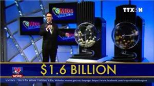 VIDEO: Tiết lộ chủ nhân giải xổ số kỷ lục 1,6 tỷ USD ở Mỹ