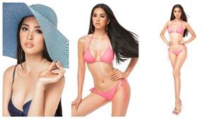 Trần Tiểu Vy tung ảnh bikini nóng bỏng thu hút bình chọn tại Miss World 2018