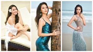 Chùm ảnh: 'Người đẹp Biển' Bảo Châu 18 tuổi khoe nhan sắc nóng bỏng