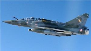 Máy bay chiến đấu Mirage 2000D của Pháp biến mất gần biên giới Thụy Sĩ