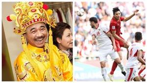 VIDEO Nghệ sĩ Quốc Khánh gào thét khi đội tuyển Việt Nam ghi bàn và chiến thắng Jordan