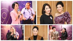 Dàn nghệ sĩ tham dự Year End Party của báo Thể thao và Văn hóa