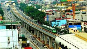 Dự án đường sắt Cát Linh - Hà Đông dự kiến vận hành chính thức từ tháng 4/2019