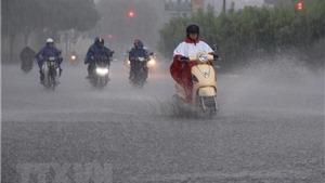Tối và đêm 6/5 các khu vực trong cả nước đều có mưa và dông