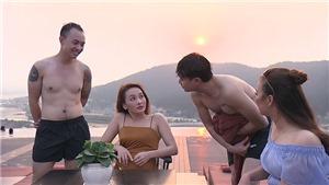 VIDEO 'Về nhà đi con' tập 40: Vũ và Dũng treo giải 500 USD thử tài 'tán trai' của Anh Thư