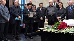Vĩnh biệt hai người bạn Nga đã dành cả cuộc đời vun đắp cho quan hệ Nga - Việt
