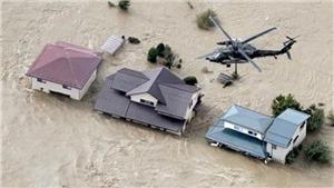 Siêu bão Hagibis tàn phá Nhật Bản: Số người chết tăng, mưa lớn chưa từng thấy trong lịch sử