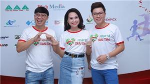 MC Mỹ Lan, ca sĩ Duy Khoa chạy bộ để 'Nối nhịp tim, vươn mầm sống'