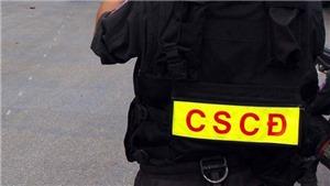 Hà Nội: Lập biên bản, xử phạt công ty dịch vụ bảo vệ mặc trang phục giống Cảnh sát Cơ động