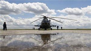 Thêm nhiều người bị thương trong vụ trực thăng Nga hạ cánh khẩn cấp tại Siberia