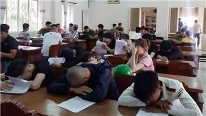 Tiền Giang: Phát hiện trong khách sạn 50 thanh niên dương tính với ma túy
