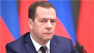 Nga: Thủ tướng Medvedev trình đơn từ chức lên Tổng thống Putin