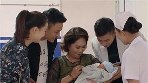 Hoa hồng trên ngực trái tập 46 - tập cuối: San sinh con trai, Khuê - Bảo về chung một nhà