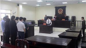 Năm cựu cán bộ Thanh tra tỉnh Thanh Hóa lĩnh án tù về tội 'Nhận hối lộ'