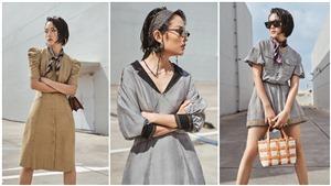 Nữ chính trong MV của Sơn Tùng M-TP sành điệu khi làm mẫu cho NTK Xuân Lê