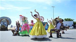 Carnival đường phố sôi động mở màn Lễ hội du lịch biển Sầm Sơn 2020