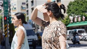 Đài Loan (Trung Quốc) trải qua ngày tháng Sáu nóng nhất trong 124 năm qua