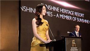 Hoa hậu Lương Thùy Linh làm giám đốc dự án ở tuổi 20
