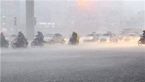 Từ đêm 22/9, Bắc Bộ có mưa vừa, mưa to, có nơi mưa rất to và gió giật mạnh