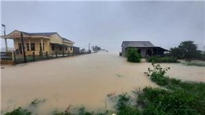 Quảng Trị đã có 4 người chết, 39.700 hộ bị ngập lụt do lũ lớn