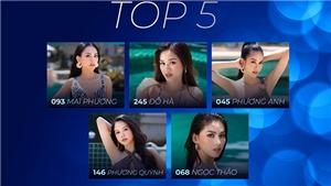 Xem lại phần thi ứng xử của Top 5 thí sinh Hoa hậu Việt Nam 2020