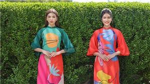 Á hậu Phương Anh, Ngọc Thảo gợi ý chọn trang phục áo dài Tết