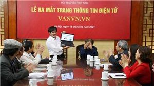 Hội Nhà văn Việt Nam ra mắt trang thông tin điện tử mới